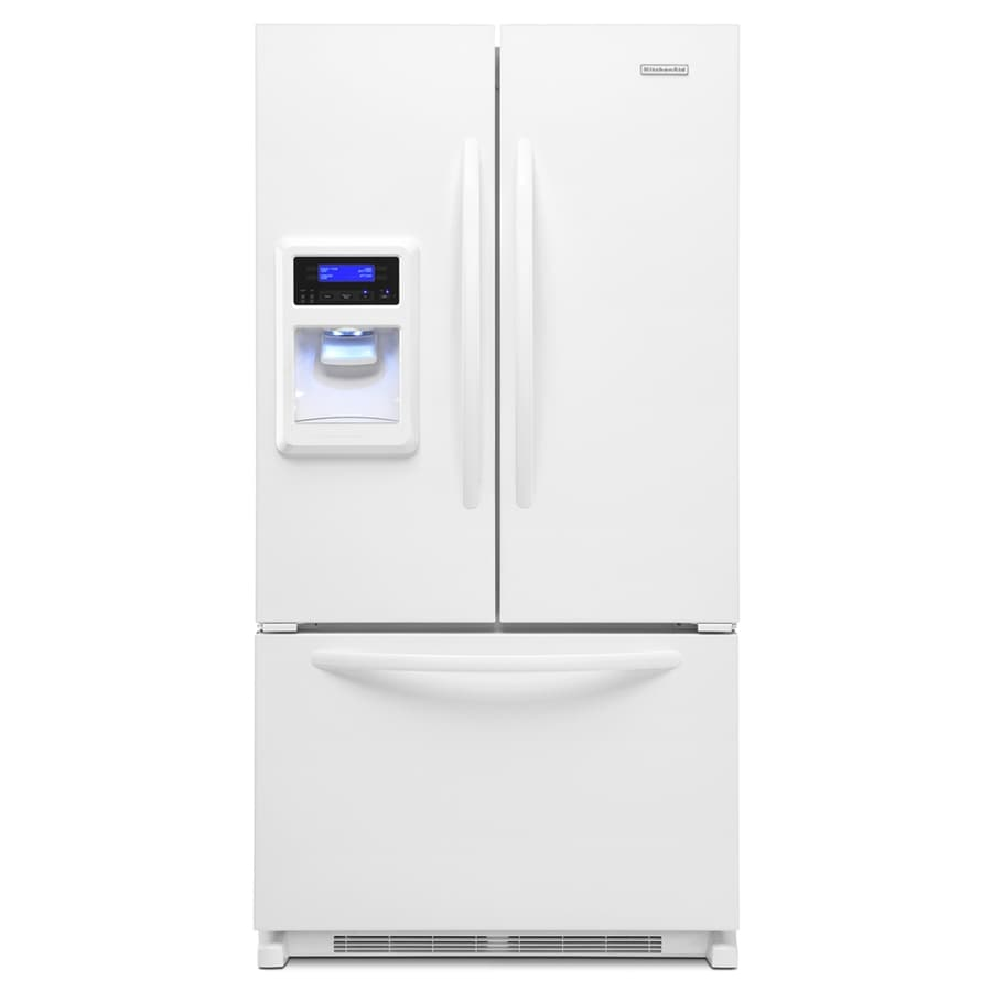 Kitchenaid Krfc300ess French Door Refrigerator Kitchen Aid French Door Refrigerator
