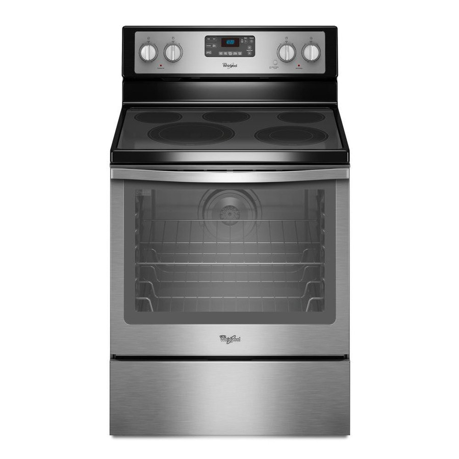 Oven Whirlpool Whirlpool Smooth Surface 5-element 6.4-cu Ft Self-cleaning