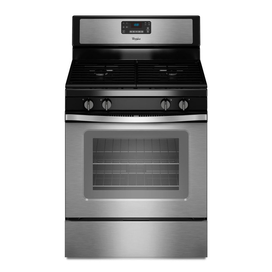 Oven Whirlpool Whirlpool 5-cu Ft Self-cleaning Freestanding Gas Range