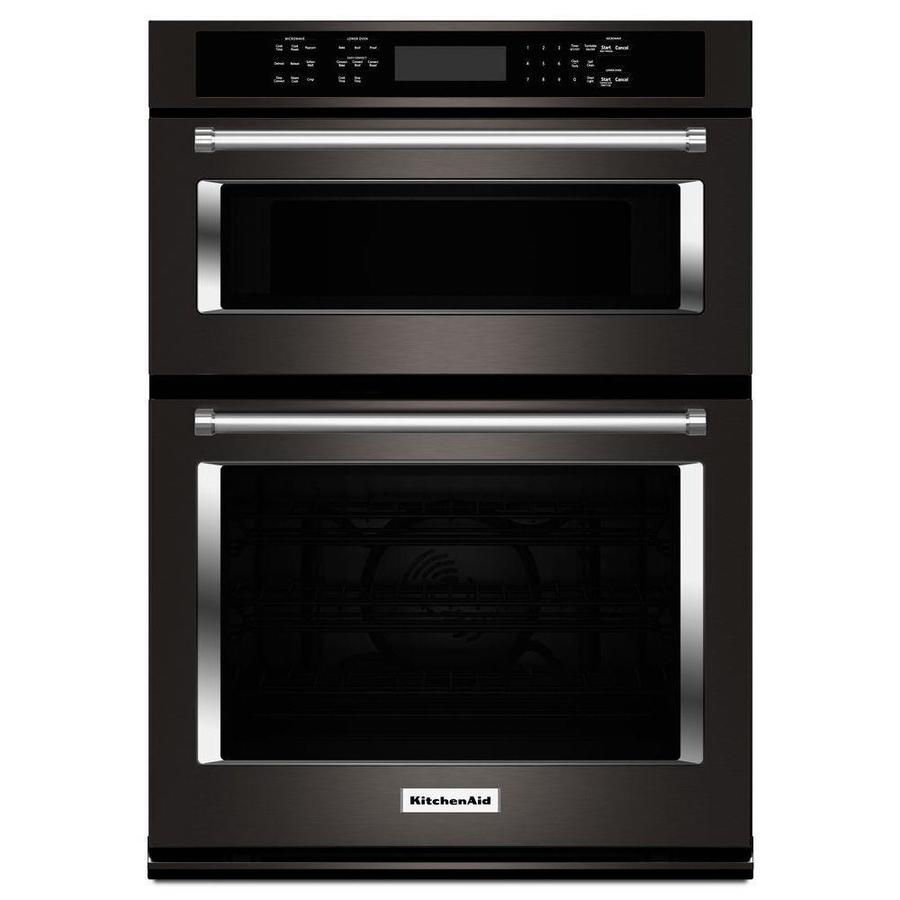 30 Wall Ovens Kitchenaid Self Cleaning Convection Microwave Wall Oven Combo
