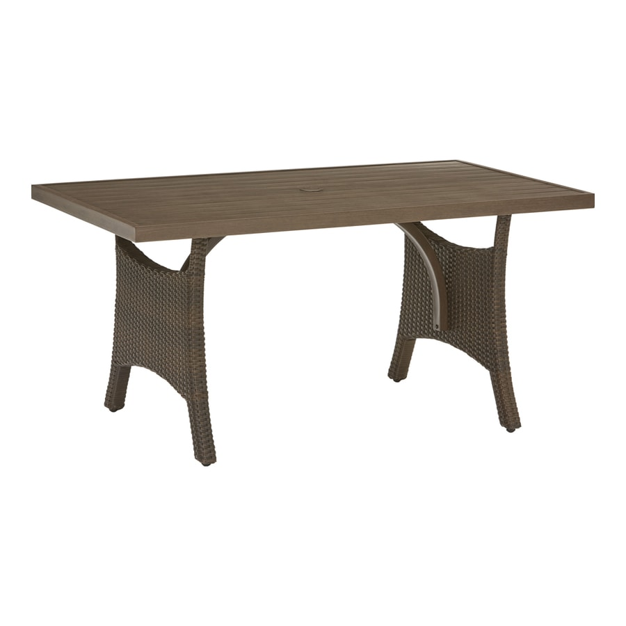 Outdoor Patio Furniture Dining Table Patio Tables At Lowes