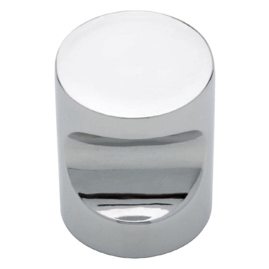 Kitchen Cabinet Hardware Manufacturers Brainerd Whistle Polished Chrome Cylindrical Cabinet Knob At Lowes