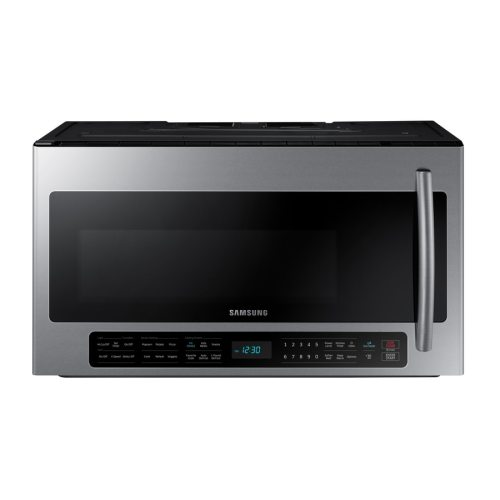 Medium Of Microwave Above Stove