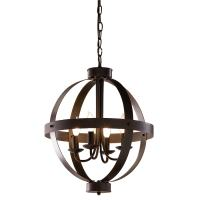 Shop allen + roth 18-in Antique Rustic Bronze Rustic ...