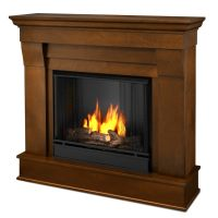 Shop Real Flame 40.9-in Gel Fuel Fireplace at Lowes.com