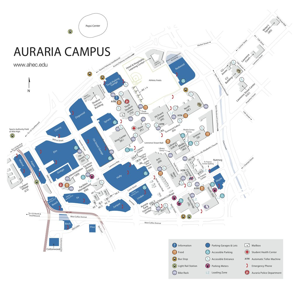 Tivoli Turnhalle Map Auraria Campus Map Pdf