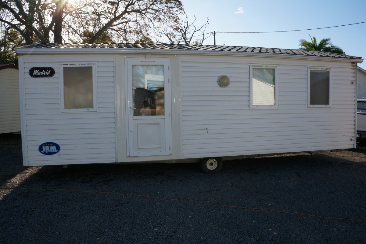 Bardage Exterieur Occasion A Vendre Mobil Home Occasion Irm Titania 2003