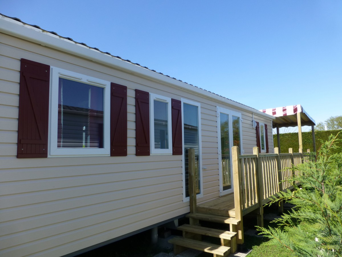 Bardage Exterieur Occasion A Vendre Mobil Home Occasion Irm Casita 2009