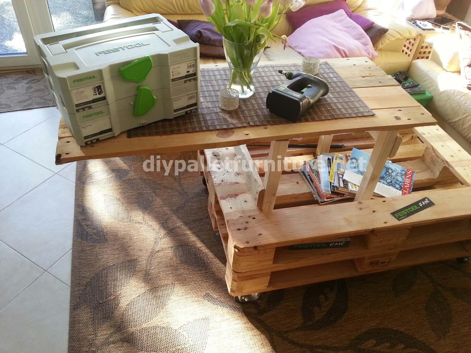 Mobili Con Pallets : Tavoli realizzati con i pallet nice panca fatta con bancali un