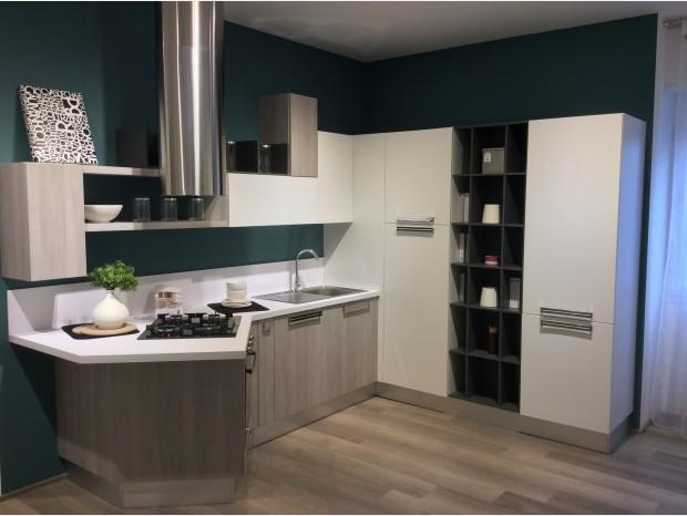 Cucina Lube Alessia Larice Grigio | Prezzi Lube: Outelt Con Offerte ...