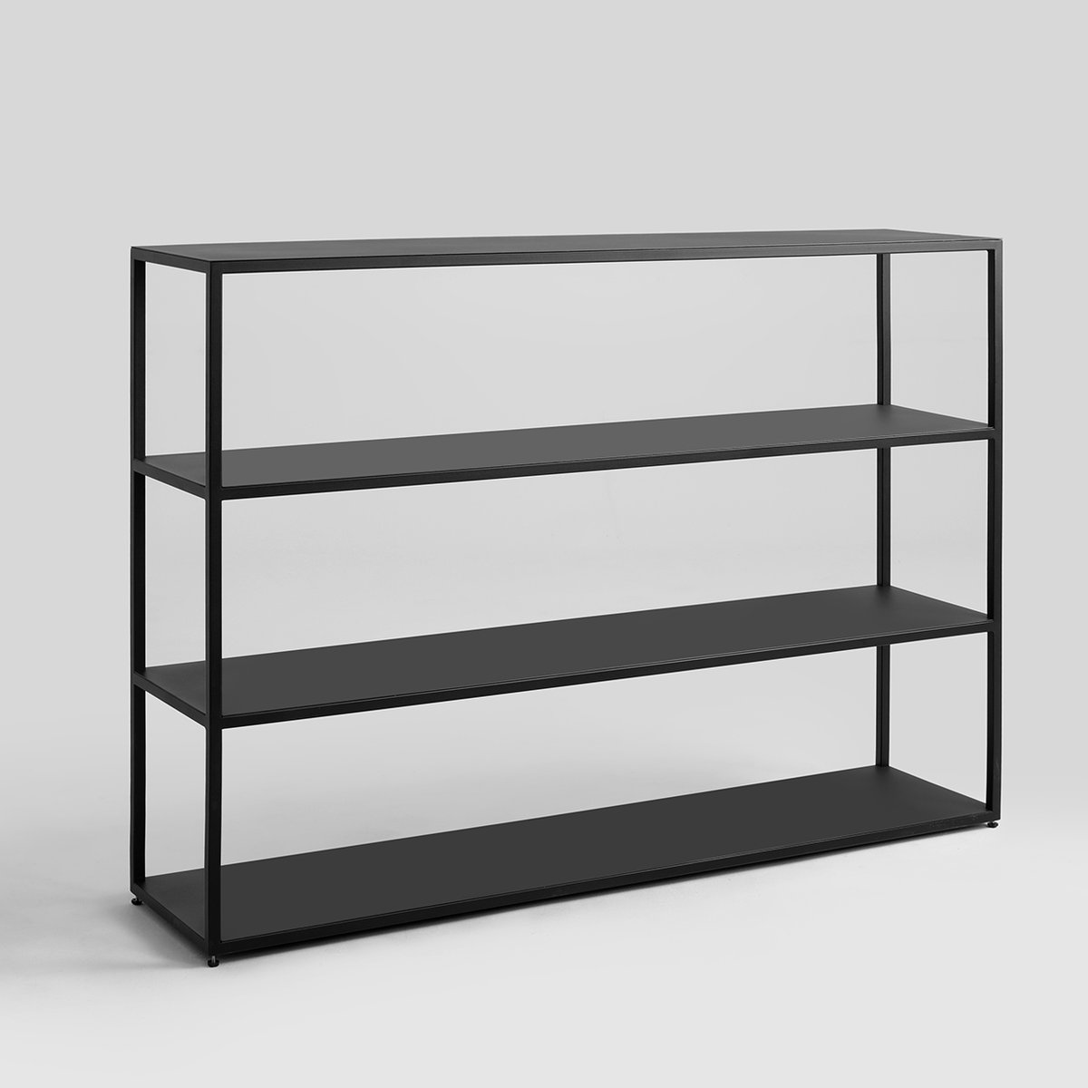 Scaffali X Libri Libreria Hyller H 110 Metallo Nera By Customform