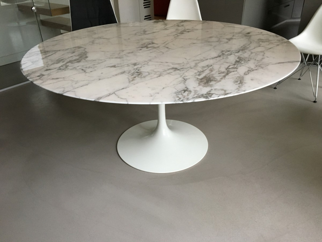 Table Ovale Tulipe Saarinen Knoll Eero Saarinen