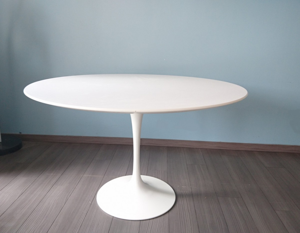 Table Tulipe Blanche Tulipe Knoll Saarinen