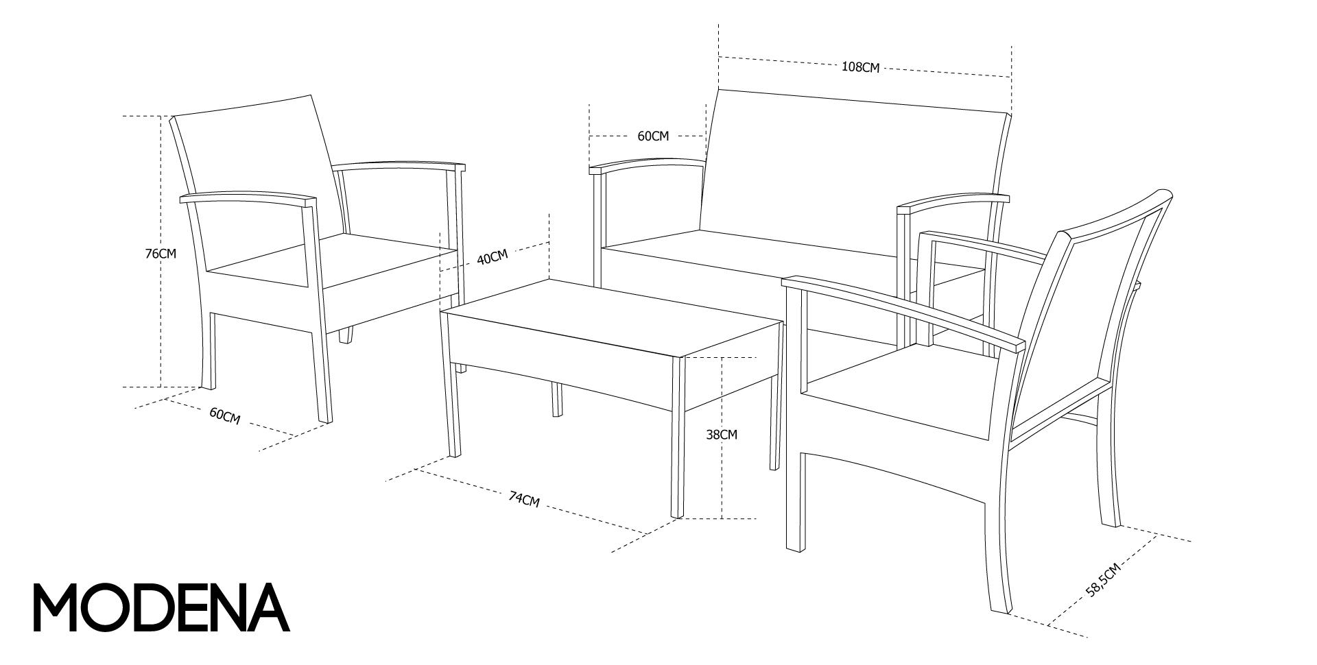 Table De Terrasse Dimension