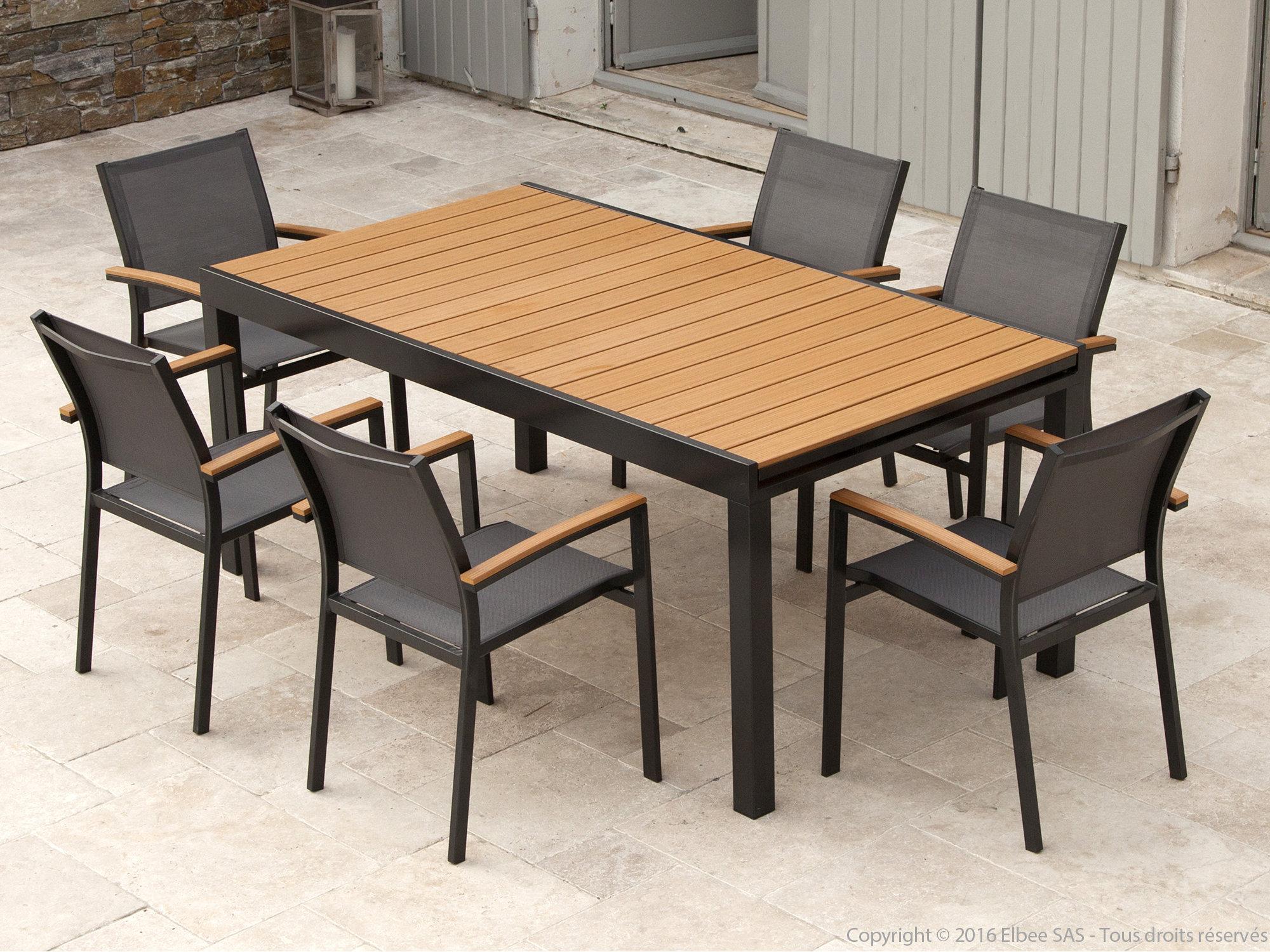 Table De Jardin Extensible Jardiland | Salon De Table Basse Noir