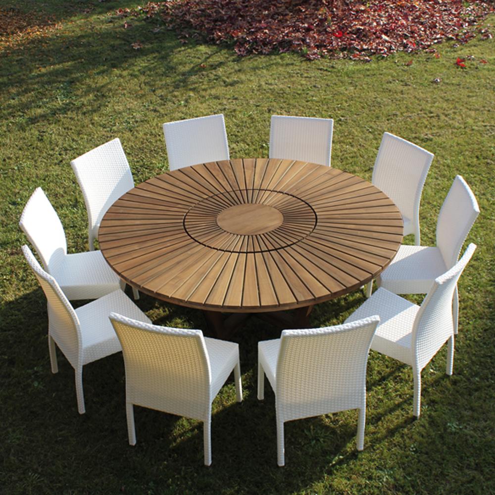 Salon De Jardin Teck Massif | Mobilier Jardin Teck Best Bout De ...