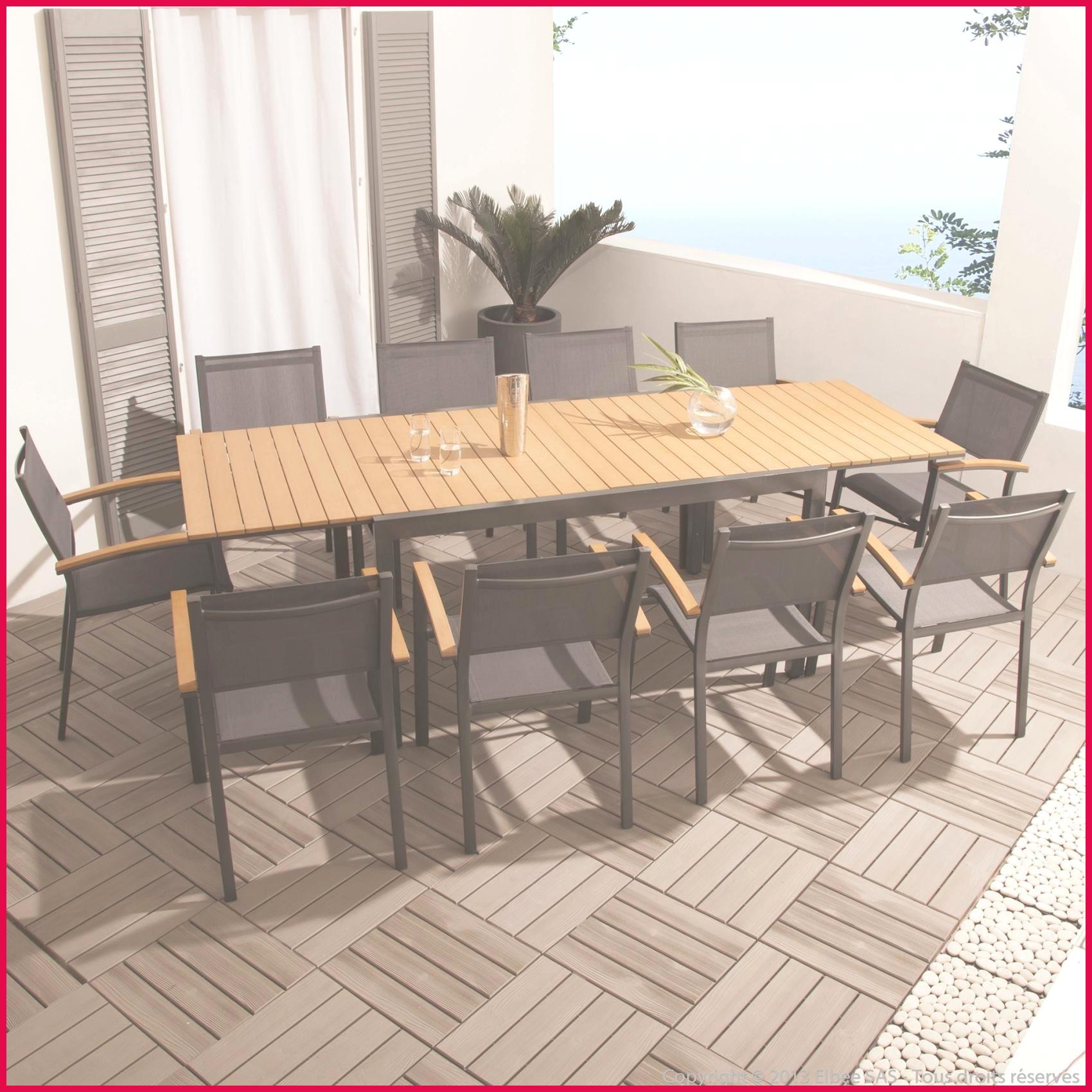 Table Jardin U
