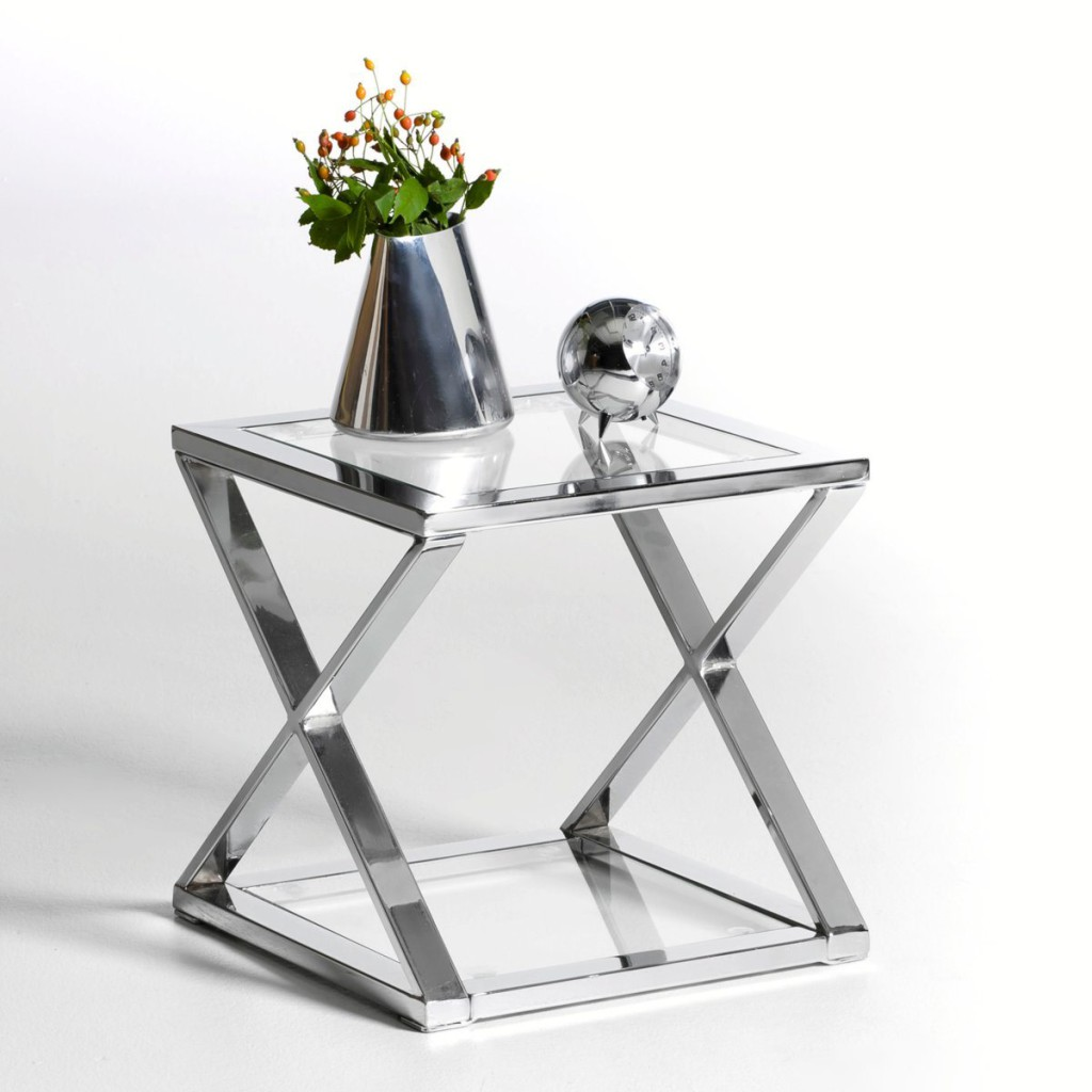 Table De Chevet Verre Table Chevet Verre