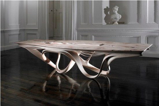 Meuble Bas Cuisine Design Table A Manger Originale