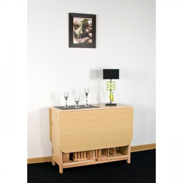 Meuble Support Tv Mural Table Console Avec Chaise Integree