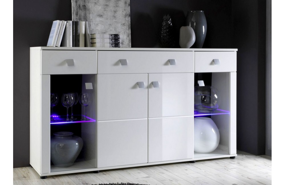 Table Blanc Ikea Buffet Bas Pour Salon