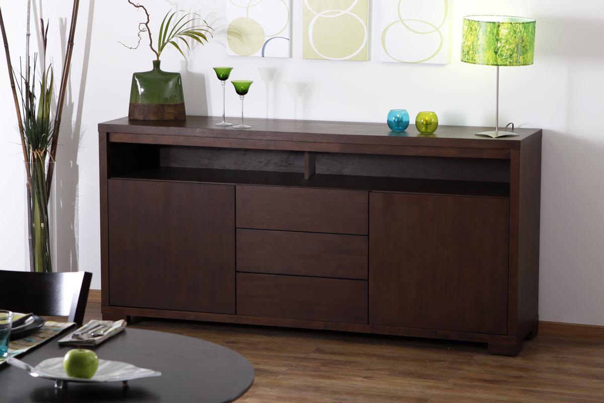 Buffets Bas Contemporains Buffet Bas Wenge