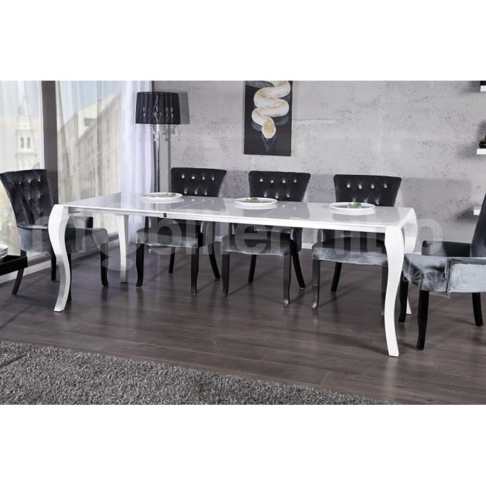 Cdiscount Chaise De Bar Table A Manger Baroque