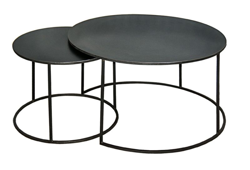 Le Corbusier Couchtisch Table Basse Gigogne Ronde
