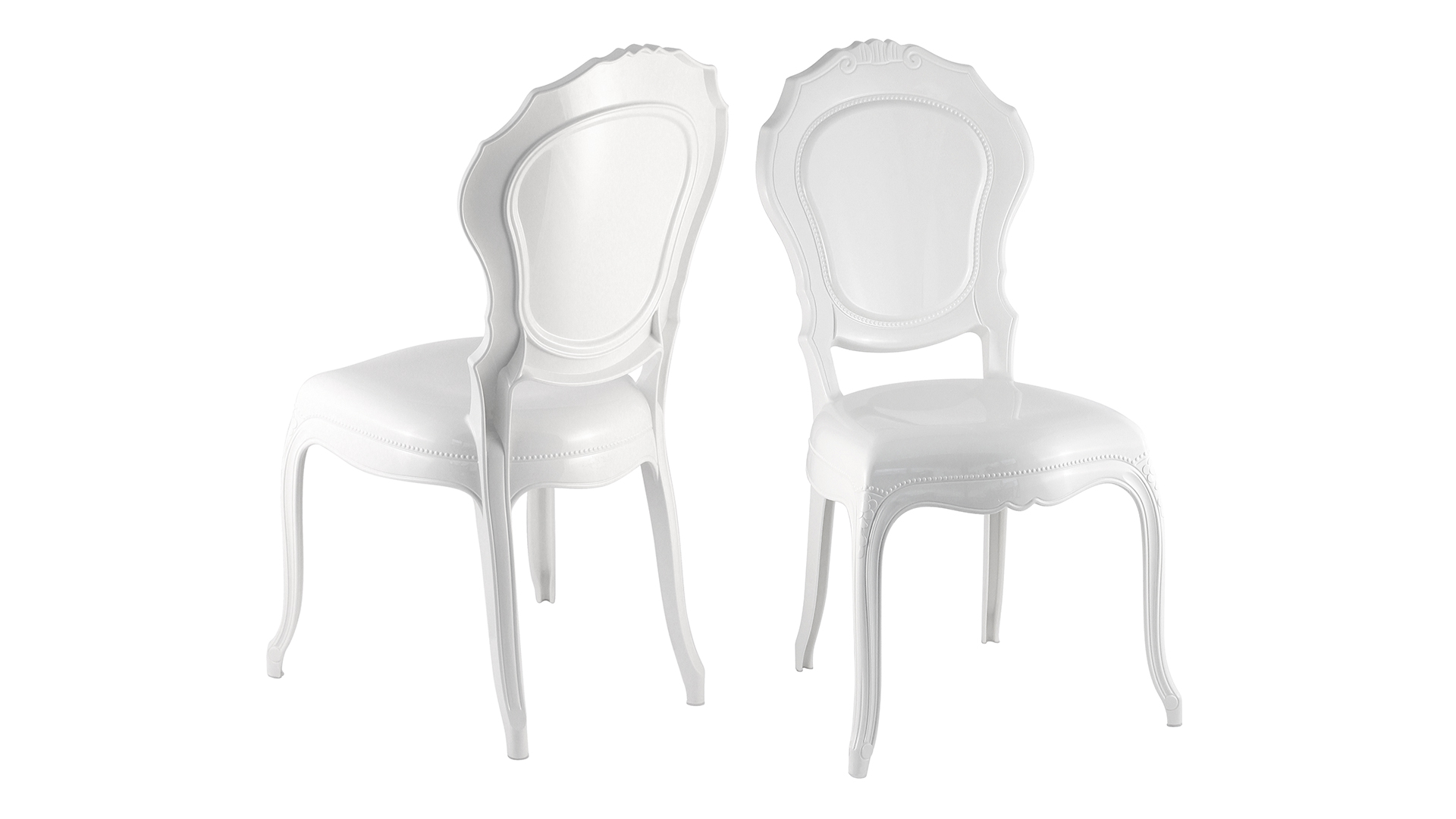 Chaises Medaillon Plexiglas Plexiglas Blanc Opaque Fabulous Matriel Novelty Pupitre