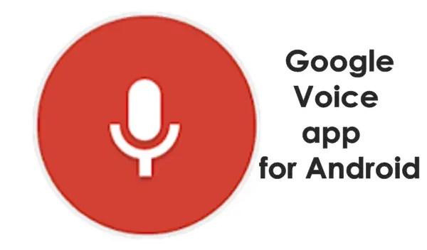 Google-Voice-app
