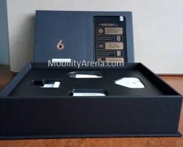 TECNO Phantom 6 photos open box