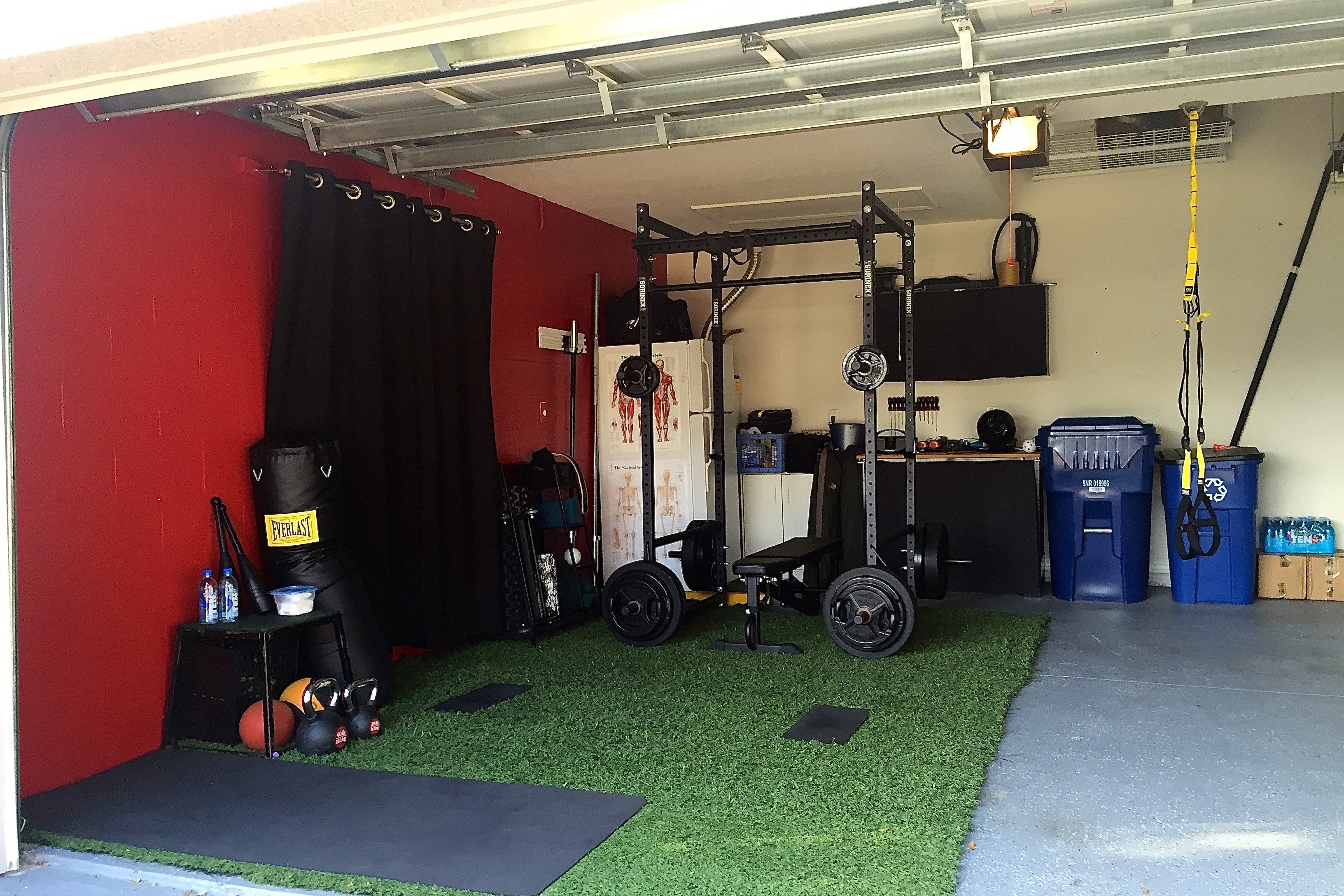 Garage Gym Half Rack Garage Gym Evolution Creating The Ultimate Home Training Space