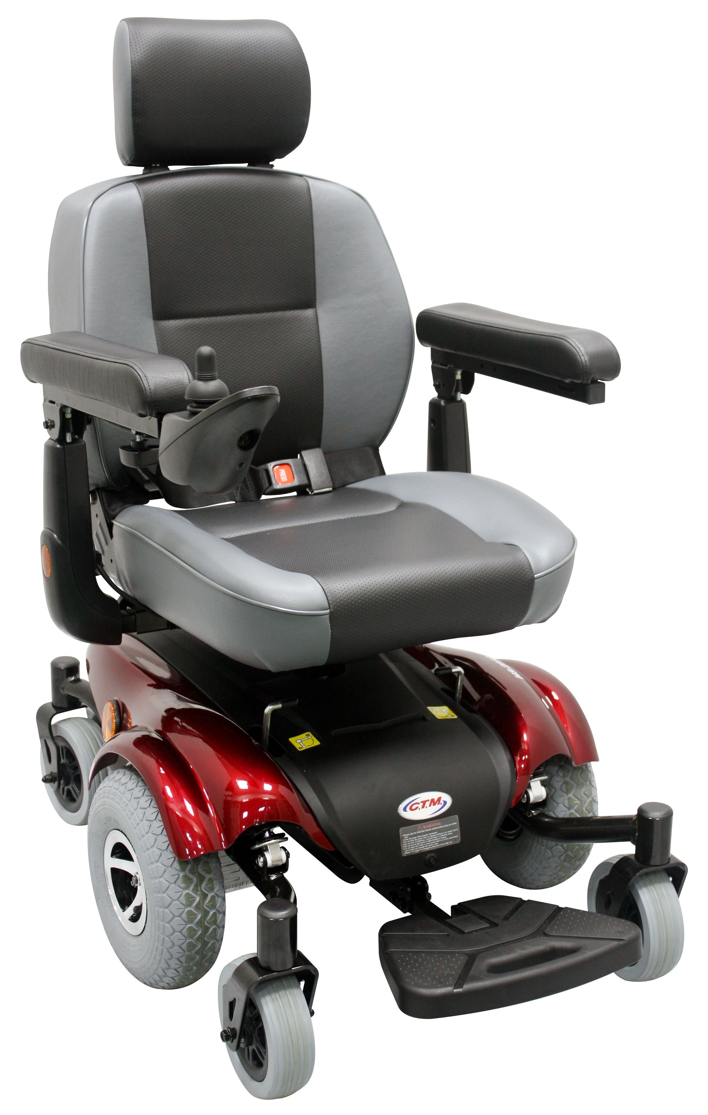 Electric Chair Mobility Ctm Hs 2850 Power Wheelchair For Sale Lowest Prices Tax