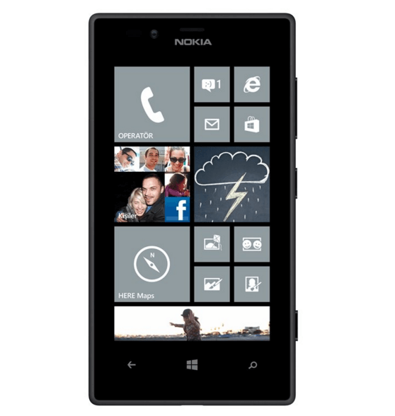 Nokia Lumia 720 Akıllı Telefon
