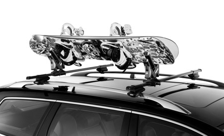 Thule Universal Snowboard Carrier 575 Mobile Living Truck And Suv Accessories