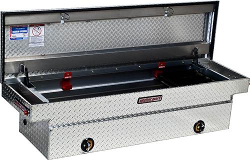 Weatherguard 127 0 02 Saddle Box Aluminum Full Size