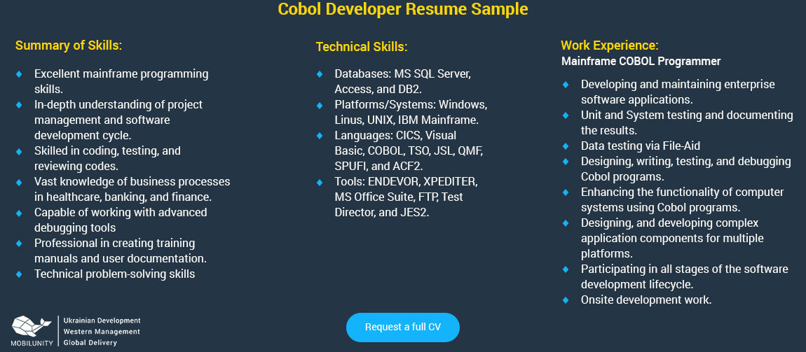 Does the Salary of a Cobol Developer Really Matter? Mobilunity