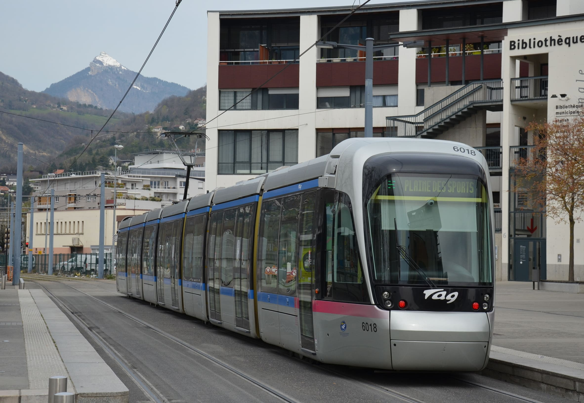 Bibliotheque Grenoble Tramways De Grenoble Tag Mobilys