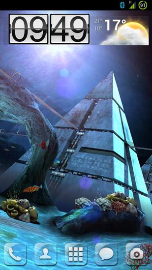 Atlantis 3d Pro Live Wallpaper Atlantis 3d Pro Pour Android 224 T 233 L 233 Charger Gratuitement
