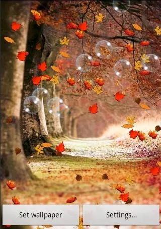 Falling Leaves Live Wallpaper Full Apk Autumn By Submad Group Live Wallpaper For Android Autumn