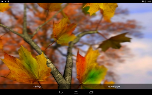 Falling Leaves Live Wallpaper Apk Autumn Leaves 3d By Alexander Kettler Live Wallpaper For