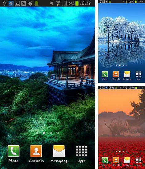 Butterflies 3d Live Wallpaper Apk 为android下载免费的 Pink Tulips。安卓动态壁纸pink Tulips。