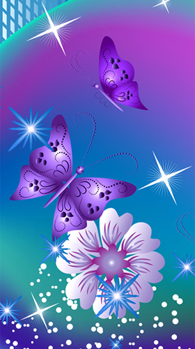 3d Galaxy Live Wallpaper Full Apk Butterflies By Fantastic Live Wallpapers F 252 R Android