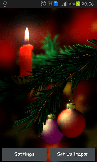 Christmas 3D live wallpaper for Android. Christmas 3D free download for tablet and phone.