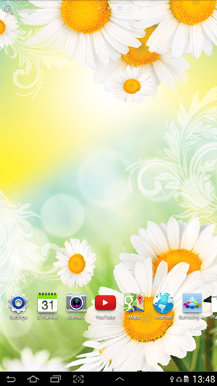 3d Christmas Live Wallpaper Apk Free Download Daisies By Live Wallpapers Live Wallpaper For Android