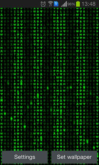 3d Matrix Live Wallpaper Apk Digital Matrix Live Wallpaper For Android Digital Matrix