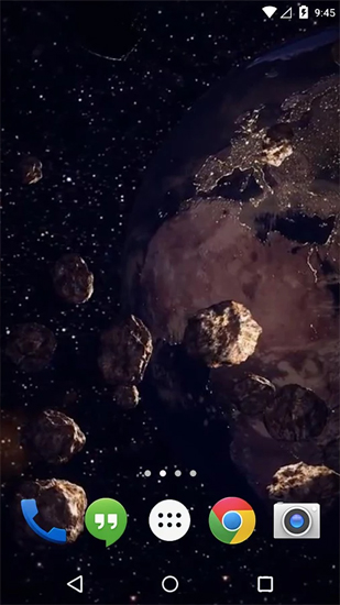 3d Earth Live Wallpaper For Android Earth Asteroid Belt Live Wallpaper For Android Earth