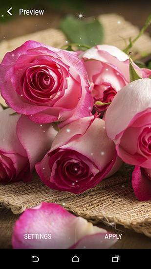 3d Christmas Live Wallpaper Full Apk Flower Bouquets Live Wallpaper For Android Flower