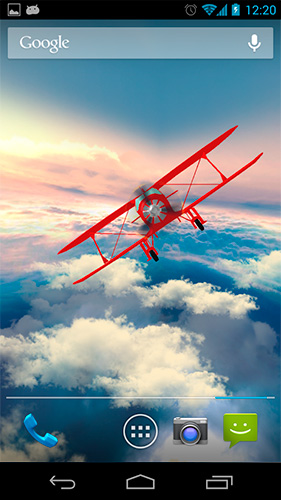 Gyroscope 3d Live Wallpaper Apk Full Glider In The Sky Live Wallpaper For Android Glider In
