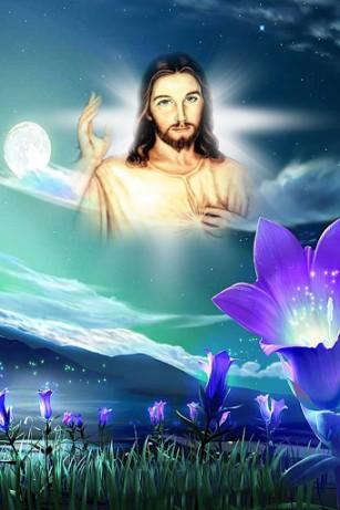 3d Jesus Christ Live Wallpaper Jesus Para Android Baixar Gr 225 Tis O Papel De Parede
